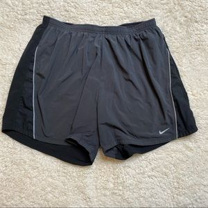 Nike Athletic Shorts in gray and black